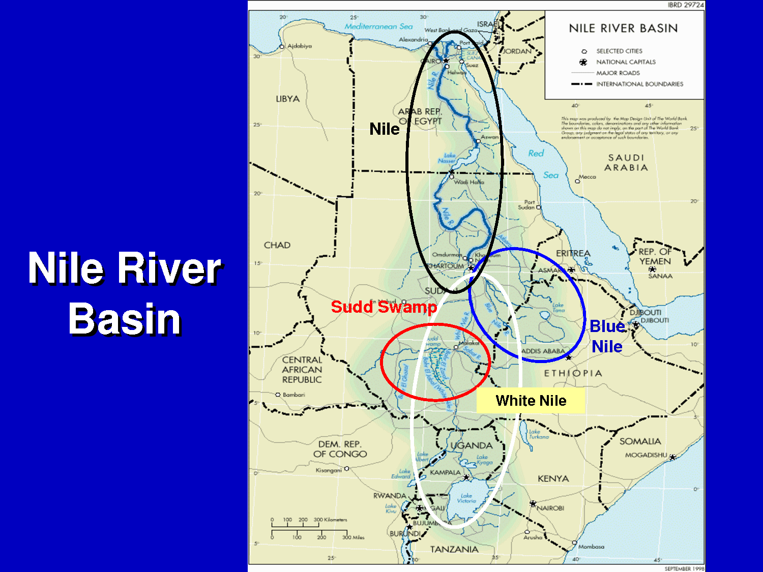 Egypts Request To Join CFA Agreement On Nile Waters Rejected - Map of egypt ethiopia