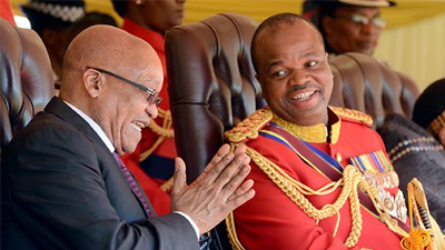 How rich is king mswati of swaziland