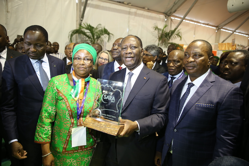 Ouverture d'un salon international de l'agriculture à Abidjan — Côte d'Ivoire