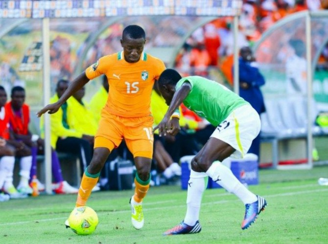 Img : Football : la Côte d'Ivoire et le Togo se neutralisent en amical (2-2) en France