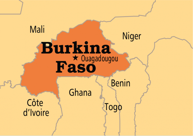 Img : Living dangerously: Burkina Faso's new normal