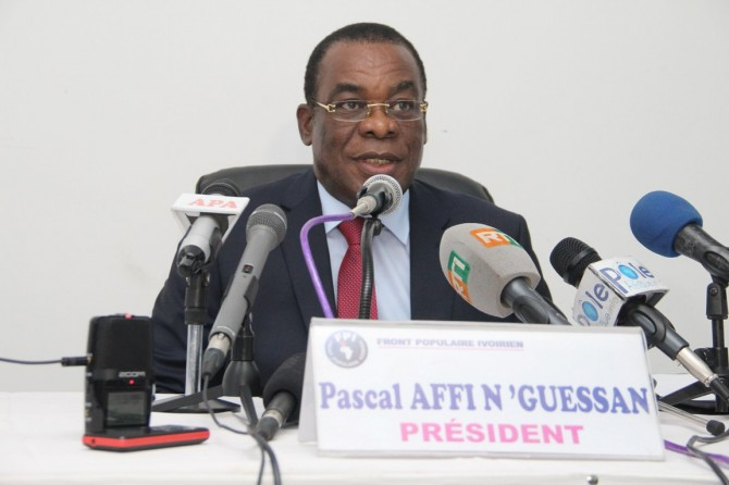 Img : FPI: Affi N'guessan assure «être toujours en contact » avec Gbagbo
