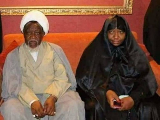 Img : Nigeria: Shiite leader, wife return from India
