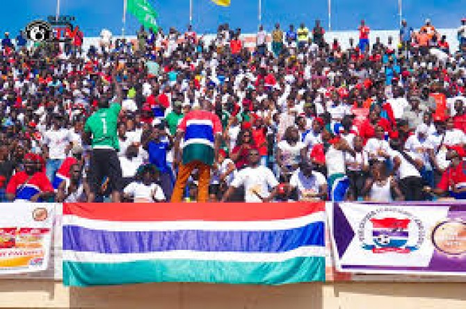 Img : From jeering to cheering Gambia's Scorpions