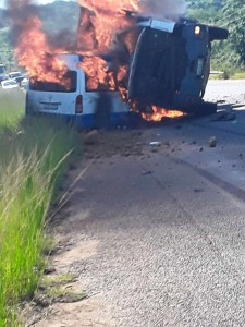 Img : eSwatini: 11 cops perish in horrific road accident