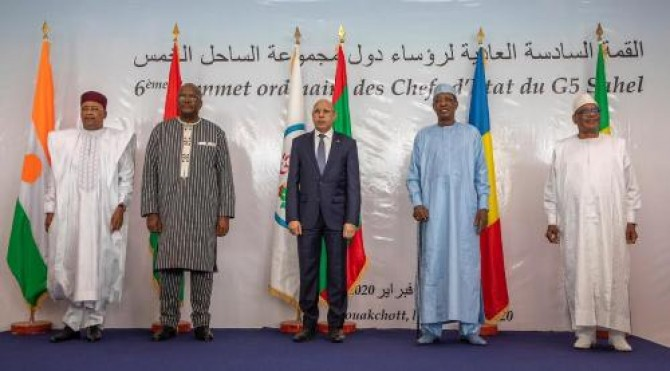 "Img : G5 Sahel in ""resolute"" vow against terrorism"