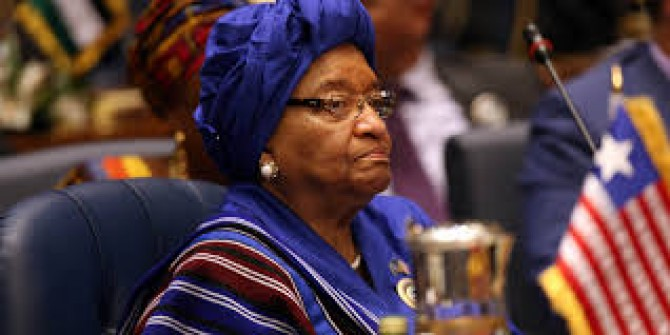 Img : Liberia's ex-President Sirleaf appointed to WHO's Global COVID-19 Panel