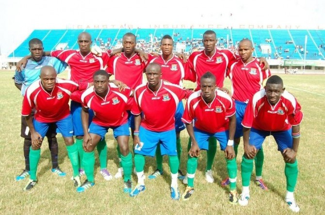 Img : Gambia revel in historic AFCON qualification