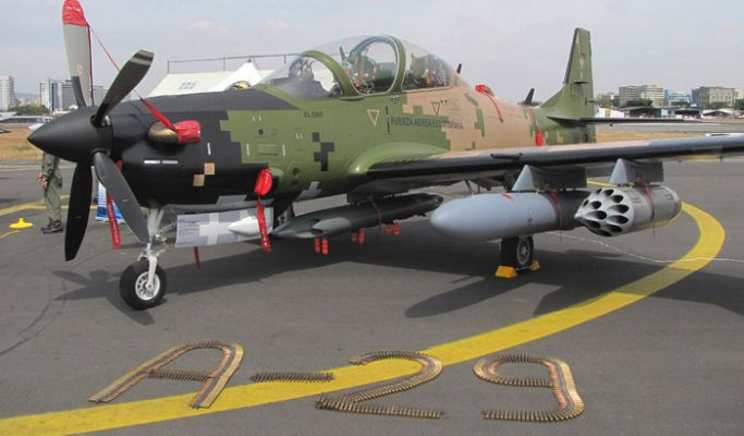 Nigeria takes delivery of Super Tucano Aircraft from US