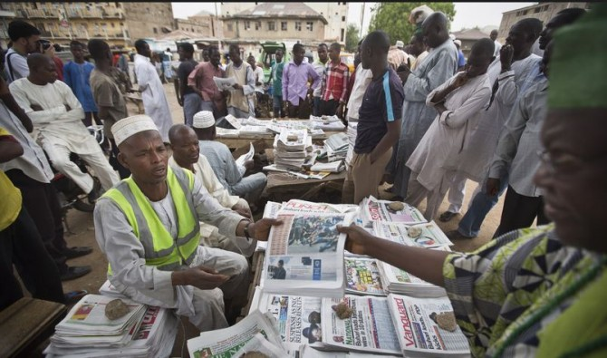 Img : Press focuses on defence of Nigeria's high debt profile, others