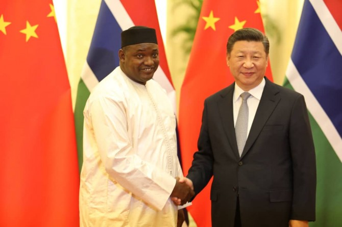 Img : Gambia apologises to Beijing over Taiwan gaffe